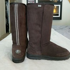 Chocolate Brown tall boots